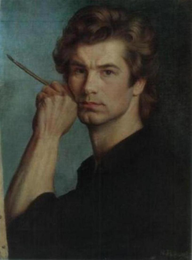 Александр Шилов Автопортрет 1974 года