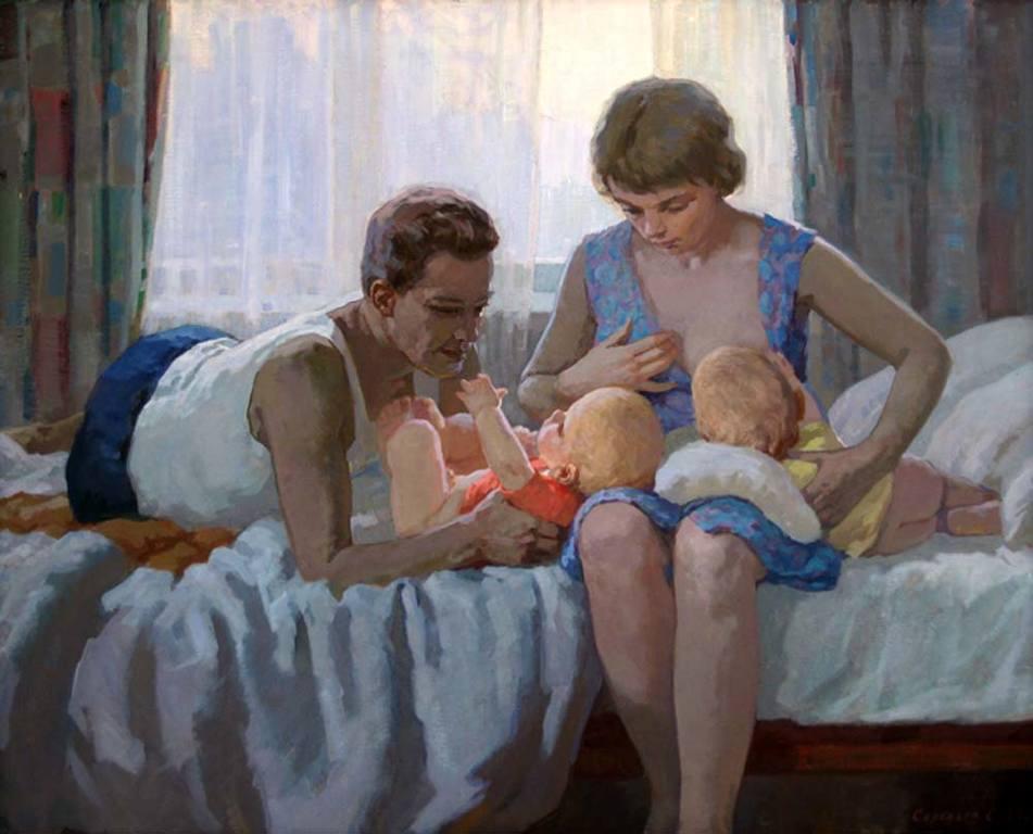 Сергей Соловьёв - Семья. Кормящая мать, 1967