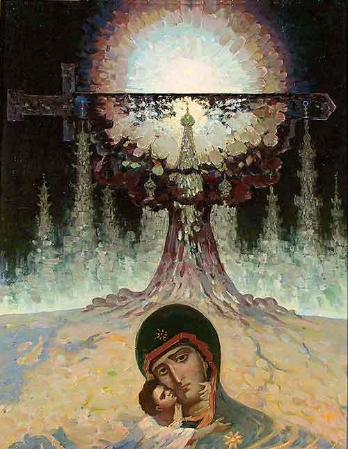 Картина художника Владимира Балакая Дамоклов меч