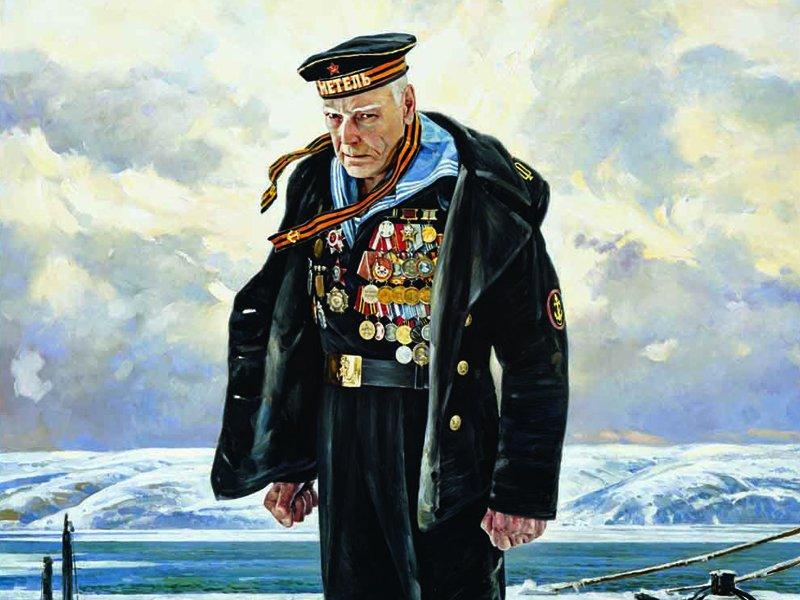 картина современного российского художника Василия Нестеренко Непокоренный