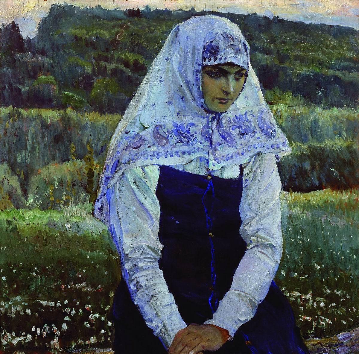 Михаил Нестеров Христова невеста