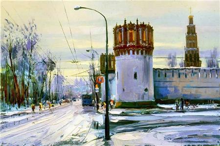 Алексей Шалаев Новодевичий монастырь