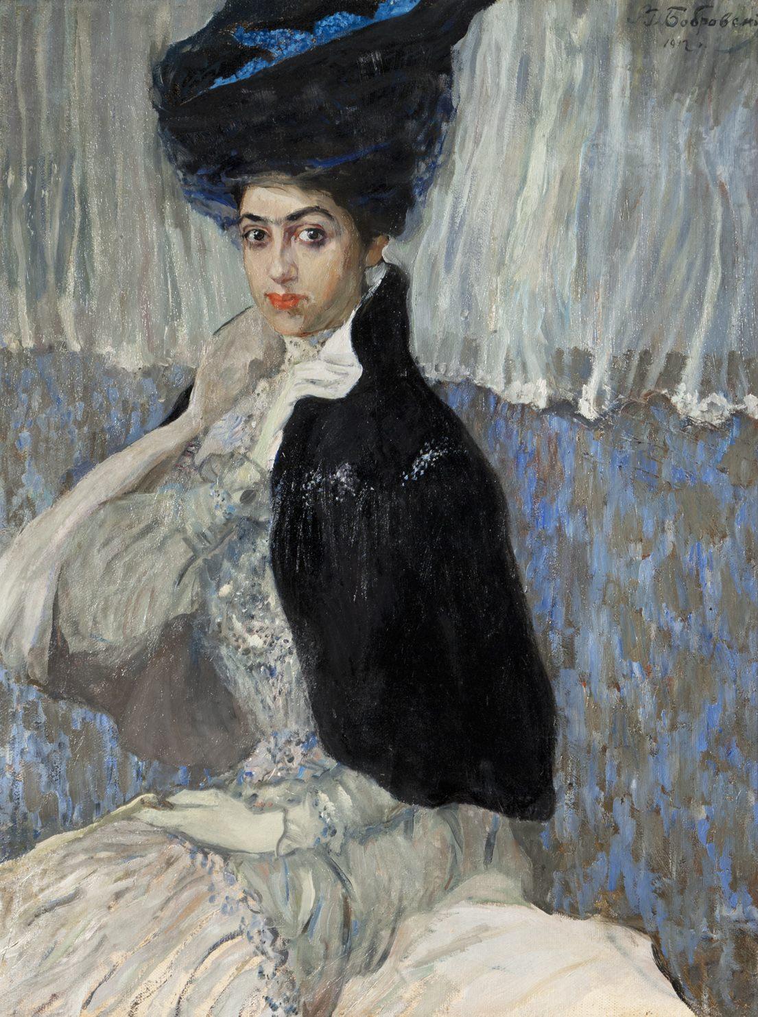 Бобровский Г.М. Портрет Самойловой. 1912