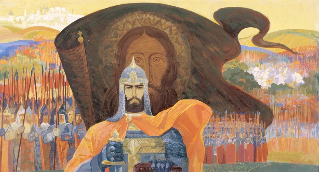 Картина художника Василия Криворучко