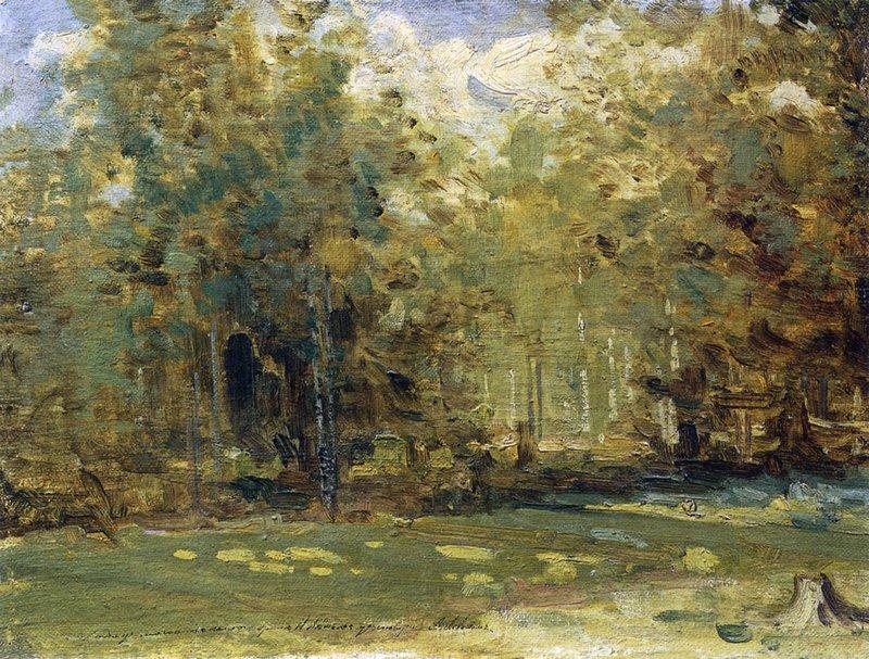 Исаак Левитан Весенний лес