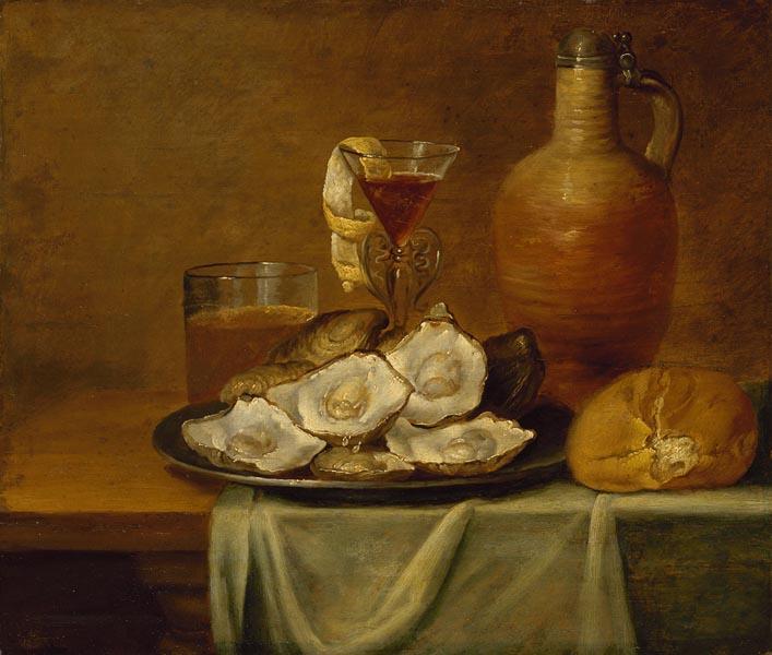 Завтрак с устрицами. Александр Адриансен