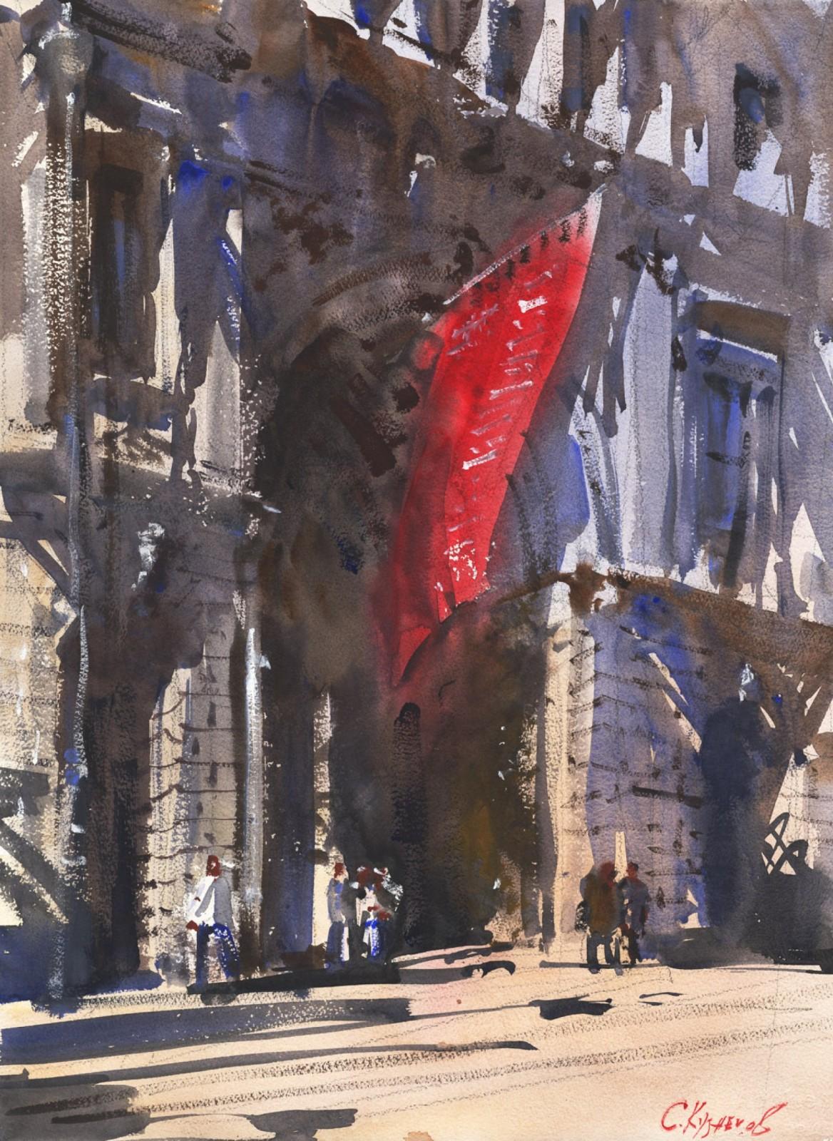 Сергей КузнецовАлый флаг, Лондон