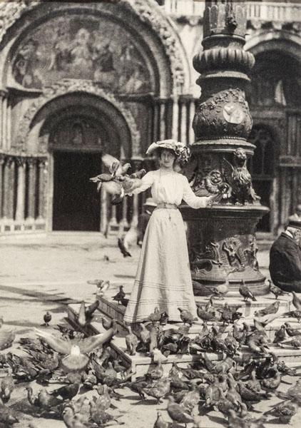 Венеция. На площади Сан Марко. Г.Р. Балланс. Швейцария. 1910-е.