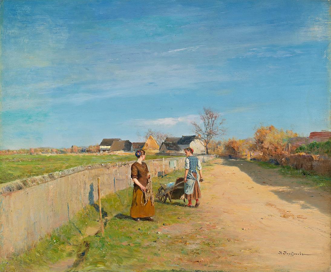 Иван Похитонов. Прачки. 1894