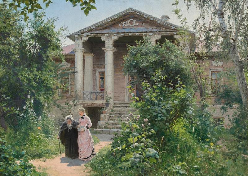 Василий Поленов «Бабушкин сад» 1878