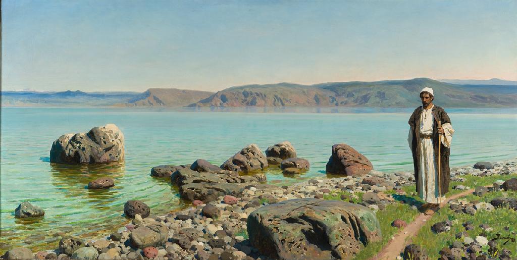 Василий Поленов «На Тивериадском (Генисаретском) озере» 1888