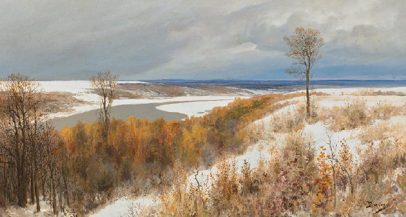 Василий Поленов «Ранний снег» 1891
