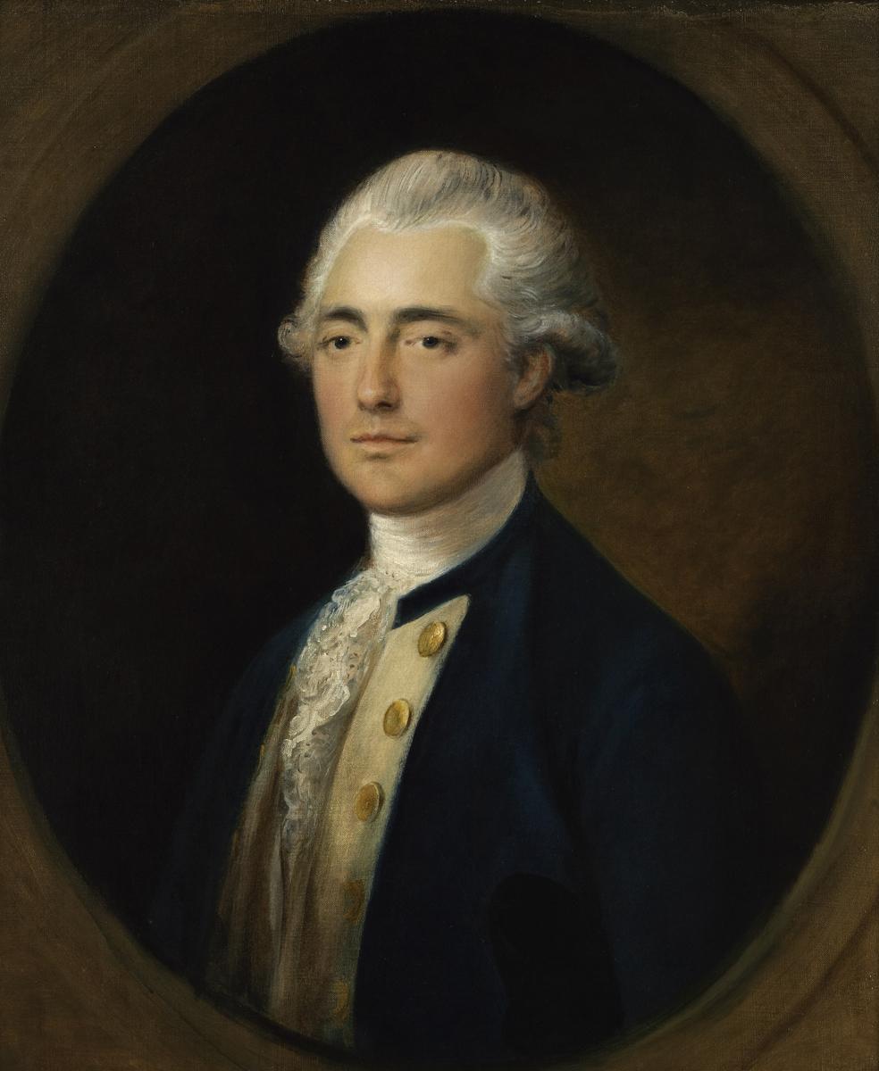 Томас Гейнсборо. Портрет капитана британского флота Джона Уитмора Четвинда (1754-1788), ок. 1785