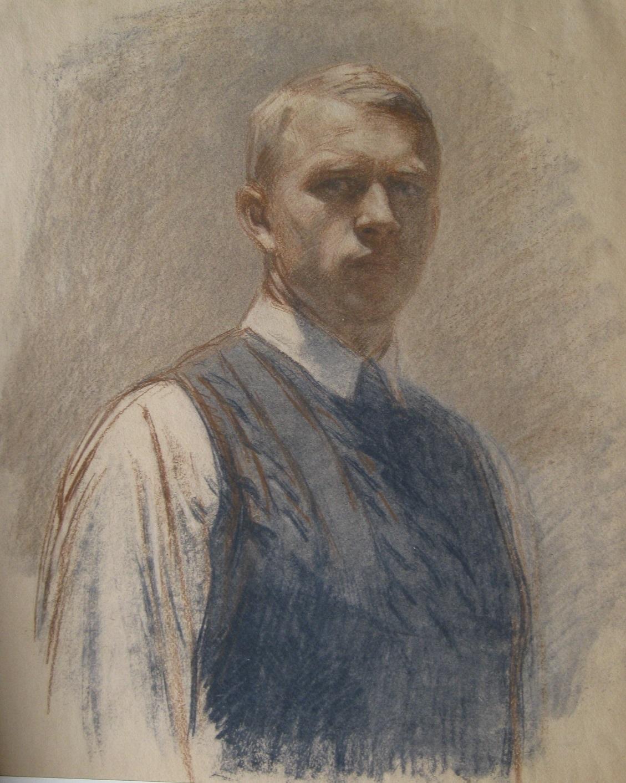 Николай Аввакумов. Автопортрет, 1934