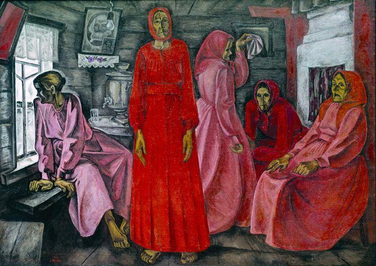 В.Е.Попков. Воспоминания. Вдовы. 1966