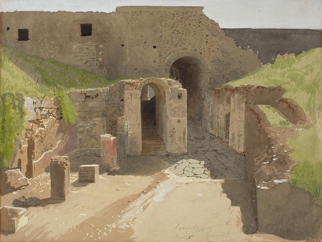 И.Н. Крамской. Помпея. 1876