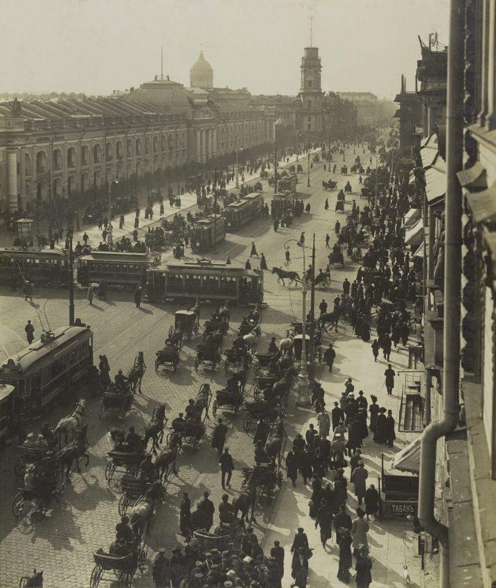 Невский проспект. Карл Булла. 1900-е
