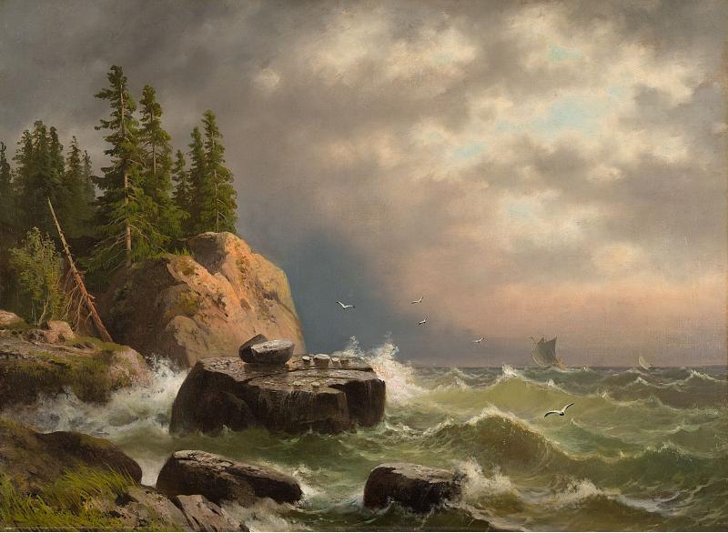 Гине А.В. Остров Валаам. Между 1858 и 1861