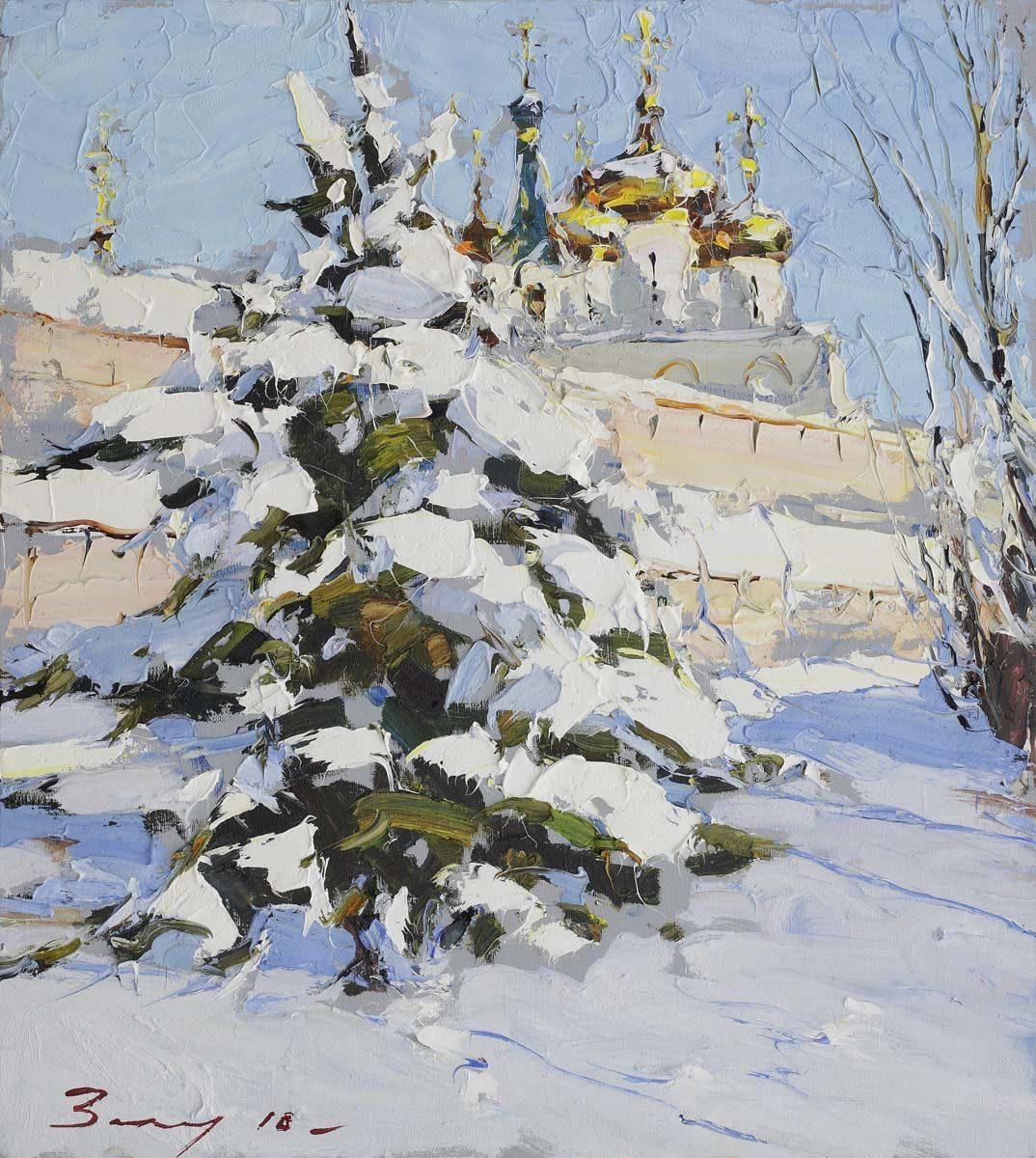 Андрей Захаров. Мороз и солнце, 2018