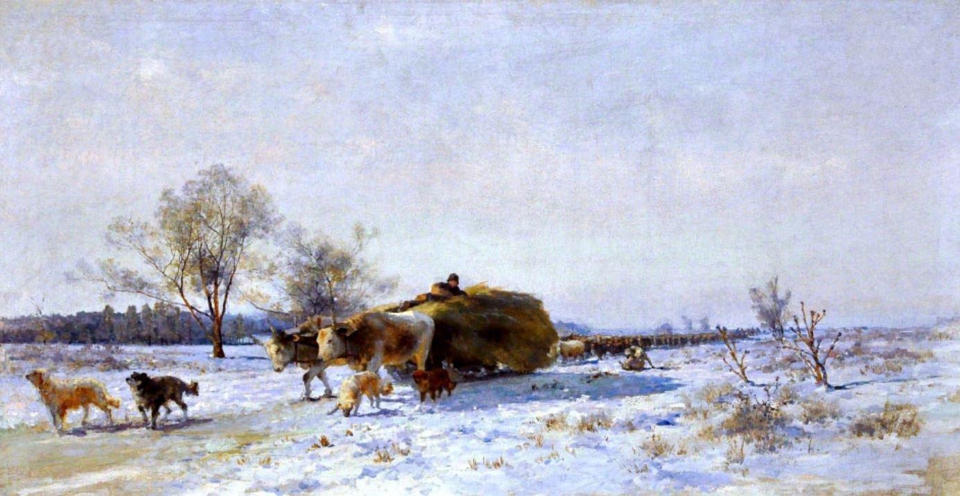 Ладыженский Г.А.  Южная зима.  Не позднее 1899 г.