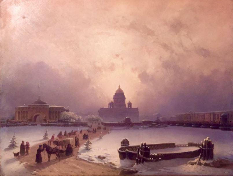 Выставка Старый Петербург. Столица и окрестности