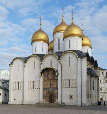 Фото Успенского собора Московского Кремля