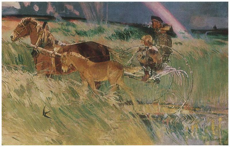 Вячеслав Загонек «Гроза прошла» (1960-1961)