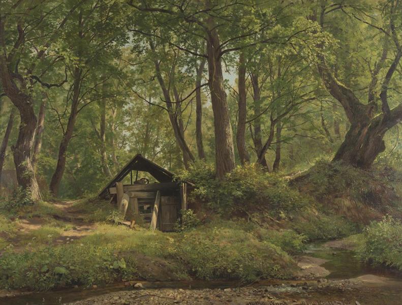 Иван Иванович Шишкин. 1832–1898. Солнечный день. Мерикюль. 1894