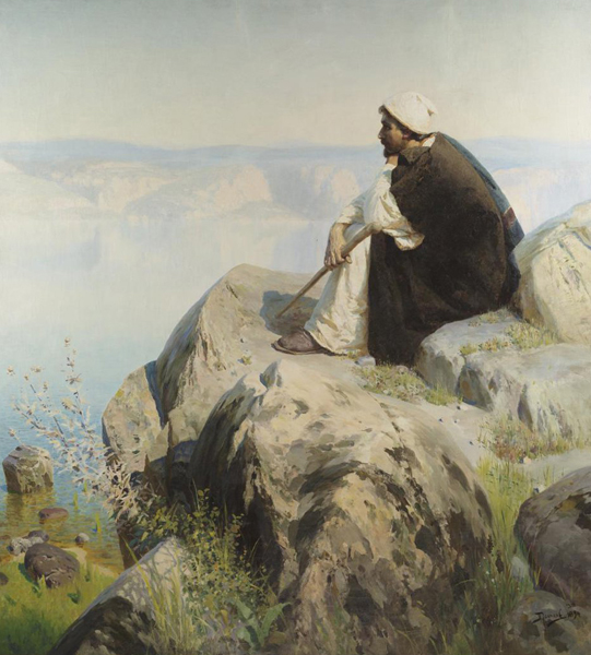 Василий Дмитриевич Поленов. 1844-1927. Христос. 1894.