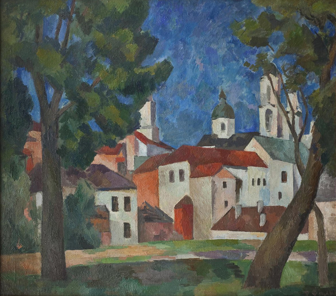 Фальк Роберт Рафаилович. Витебск. 1921-1922.