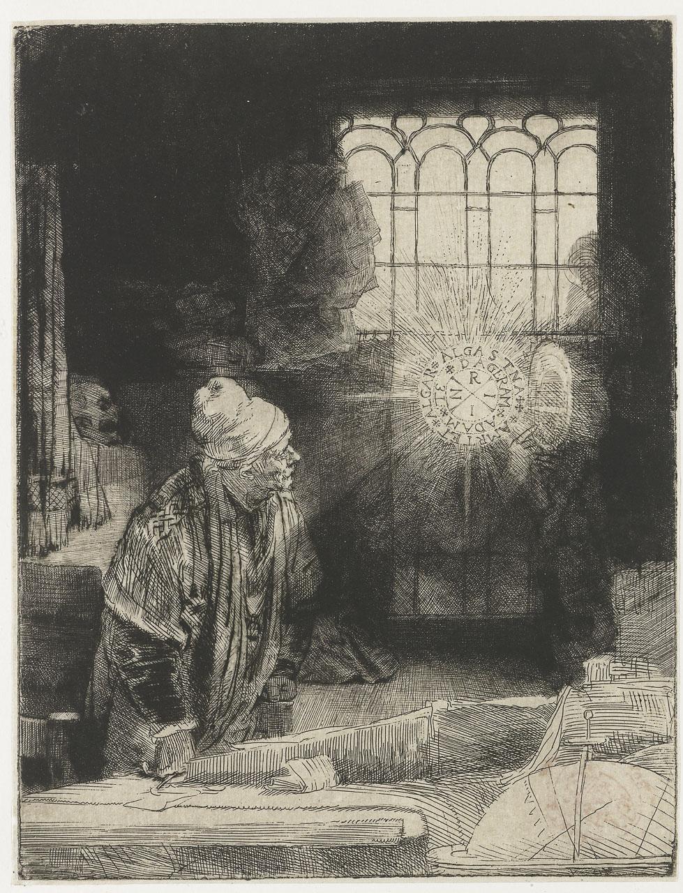 Рембрандт Фауст, 1652