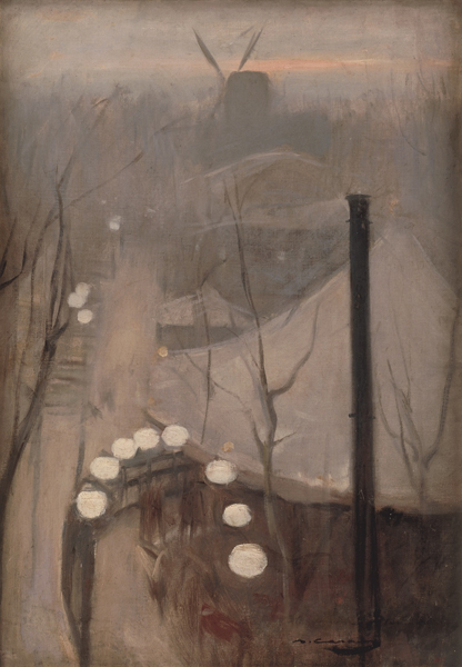 Рамон Касас. Монмартр. ок. 1890-1891