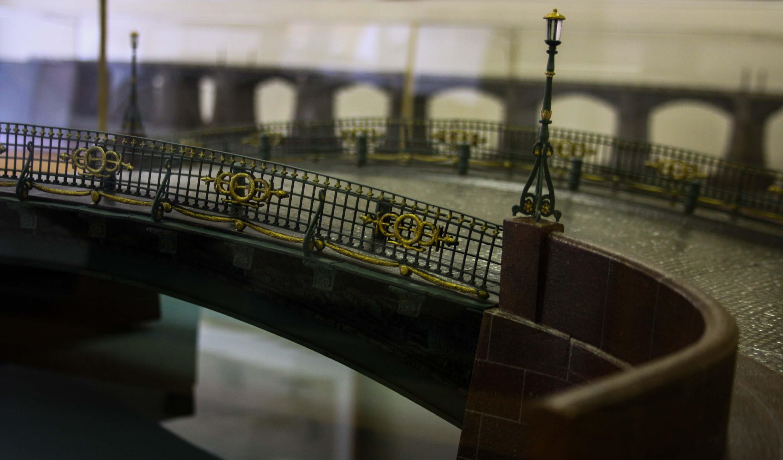 Экспозиция Музея мостов