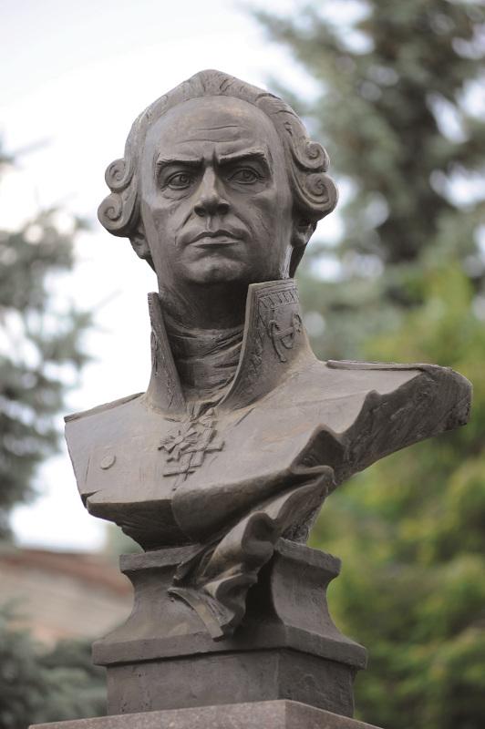 Елена Пасхина «Портрет Ф. Ушакова» 1996