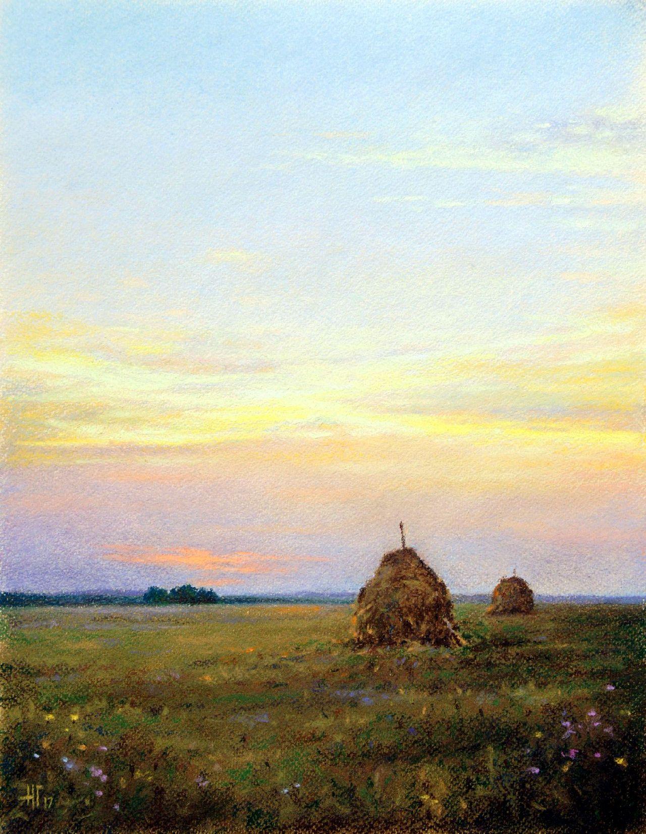 Н.Г. Головатин Вечер в поле