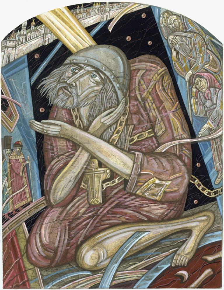 «Юродивый Николка». (Из серии «Борис Годунов»), 2005