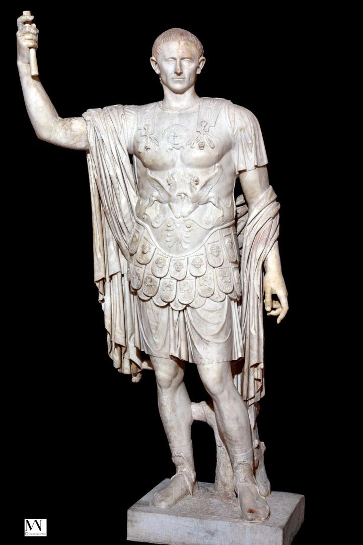 Статуя Марка Олкония Руфа Marcus Holconius Rufus Мрамор Помпеи, I в. н. э.
