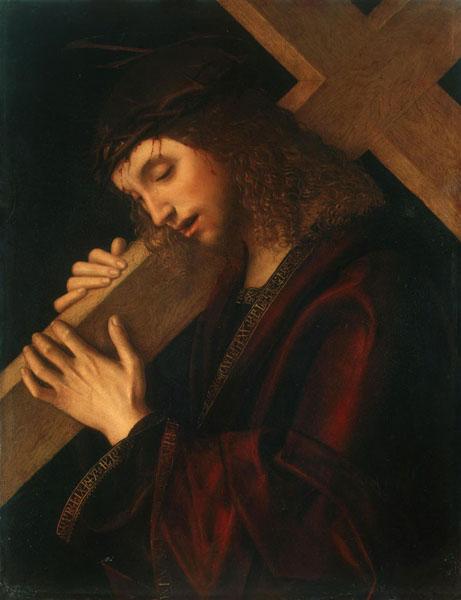 Несение креста. Майнери, Джан Франческо, упоминается-1489-1540-е. Италия.