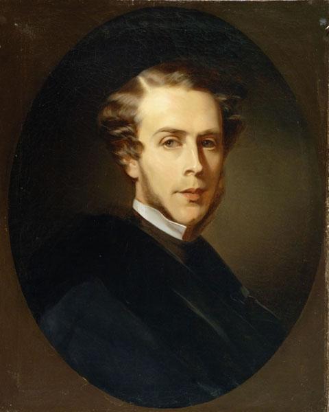 Портрет П.С. Строганова. Карл Павлович Брюллов. Около 1850