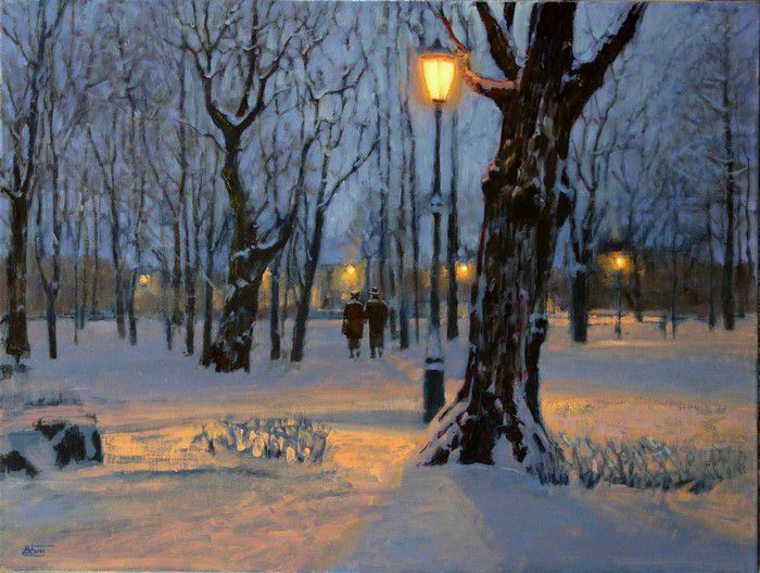 Виктория Бондаренко - В зимнем парке, 2018