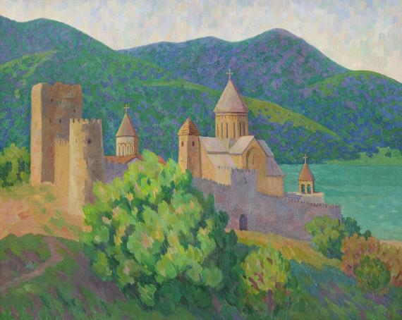 Светлана Вуцен «Крепость в Анапури» 2016