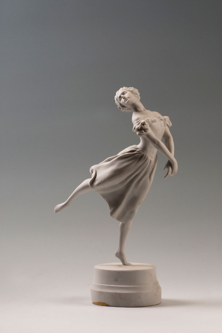 Скульптура «Балерина Т. П. Карсавина» 1930-е