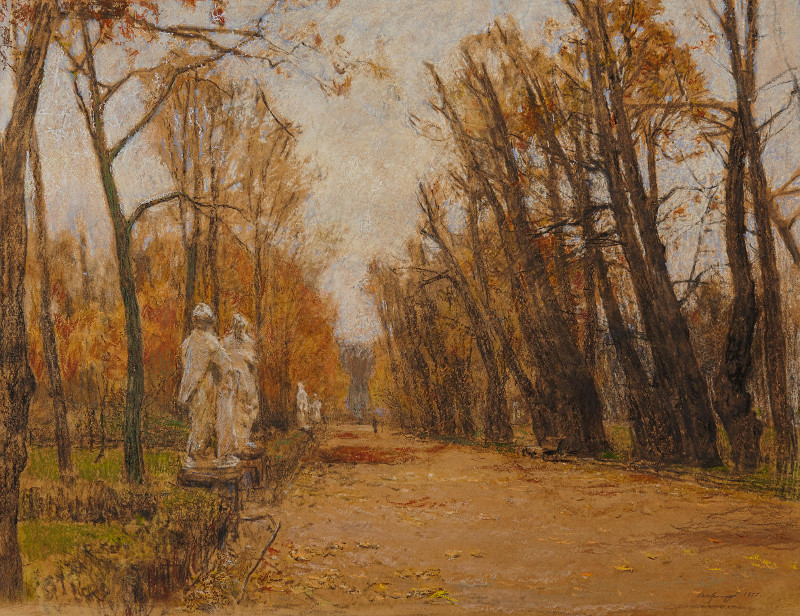 Алексей Грицай. «Летний сад». 1955