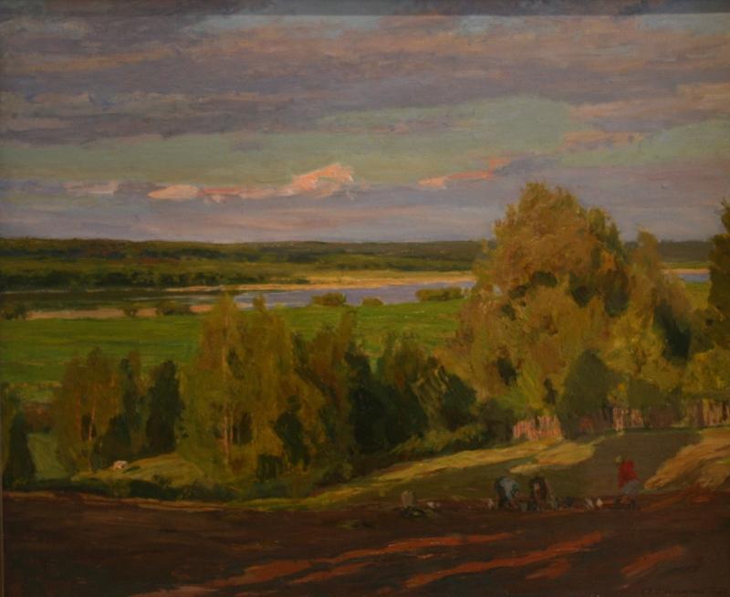 А.М.Грицай «Уборка картофеля. Макаровка» 1976