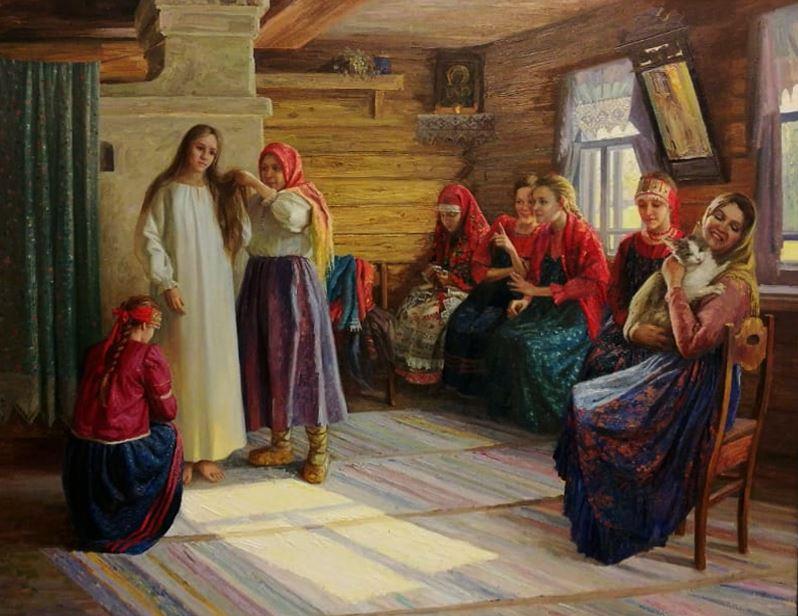 Наталья Куракса. Крестьянская свадьба