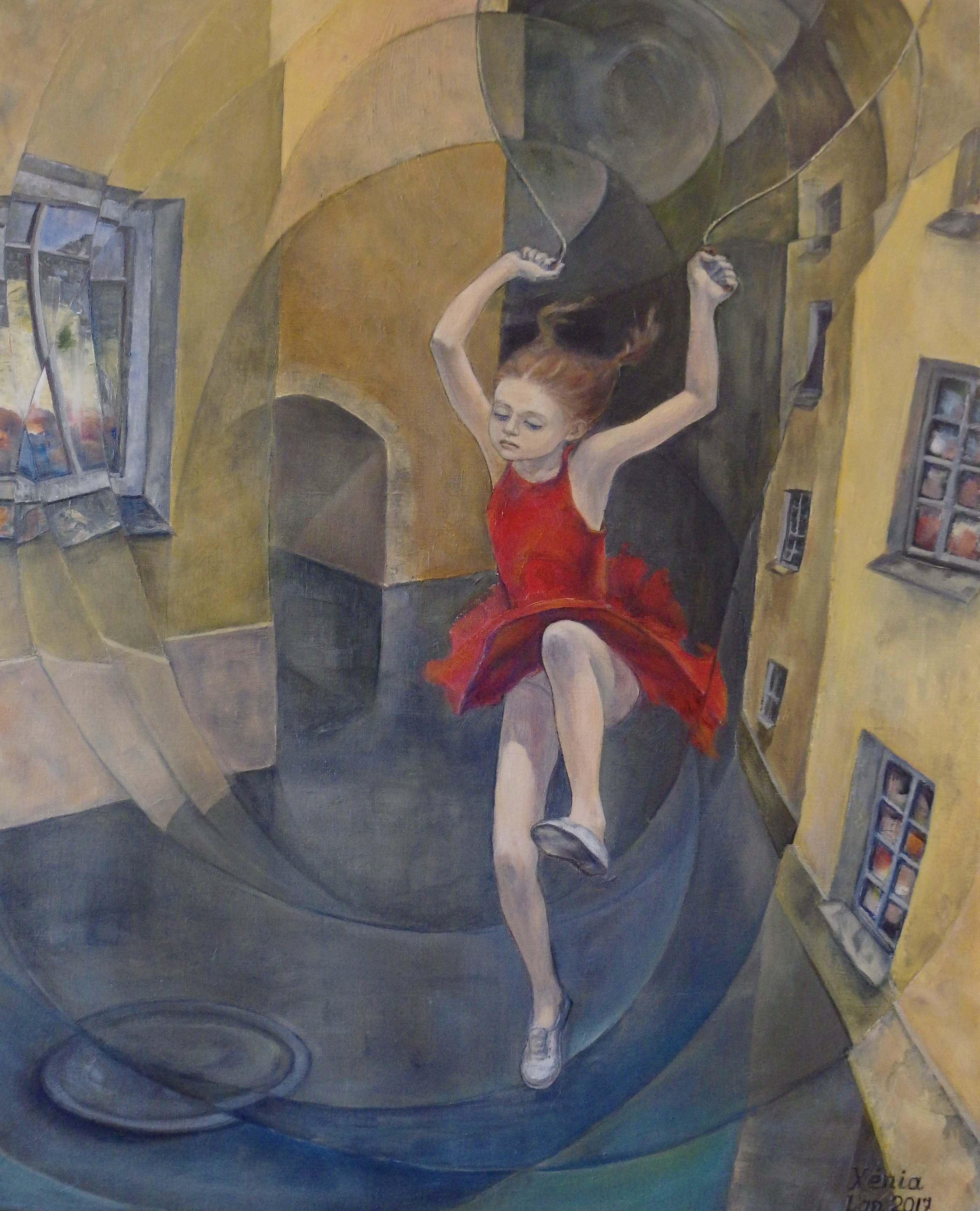 Оксана Мигур. Девочка со скакалкой
