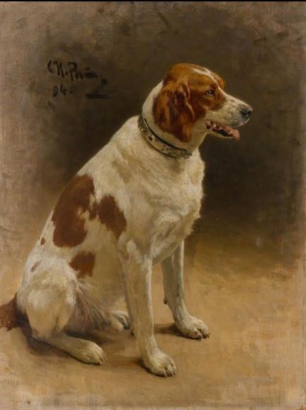 Илья Репин Собака (Пегас), 1894