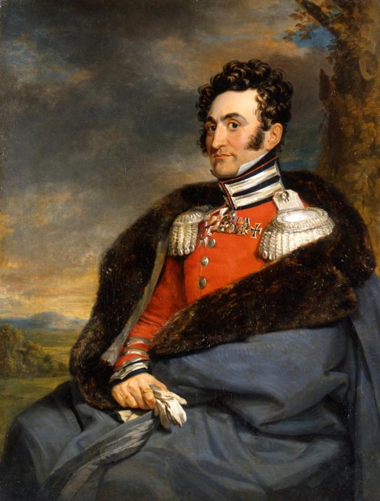 Джордж Доу. Портрет В. И. Каблукова II. Не позднее 1825 г.