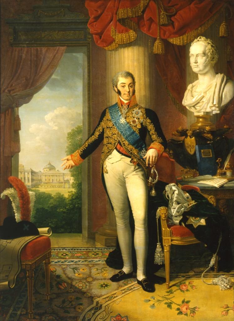 Владимир Лукич Боровиковский. Портрет графа Н. П. Шереметева. 1817-1819 гг.