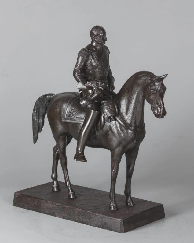 Петр Клодт. Проект конной статуи для памятника императору Николаю I в Санкт-Петербурге